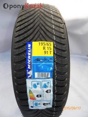 Opony Michelin ALPIN 5 195/65R15