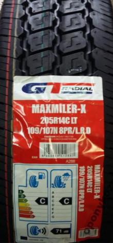 Opony GT RADIAL MAXMILER X 205/80R14C